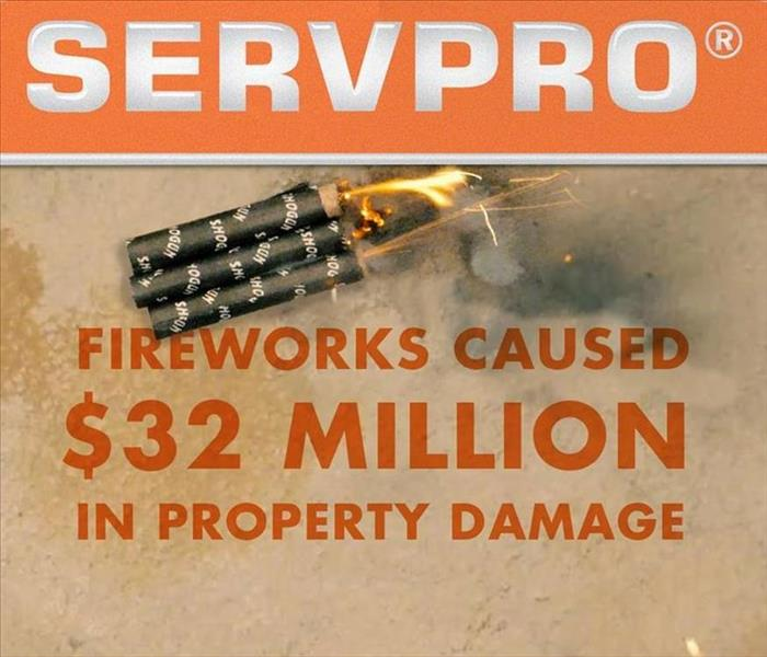 Fire Damage 16 Fireworks Safety Tips
