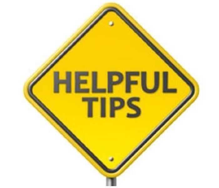 General Some Helpful Tip Prior to The Arrival of SERVPRO of Hazel Park